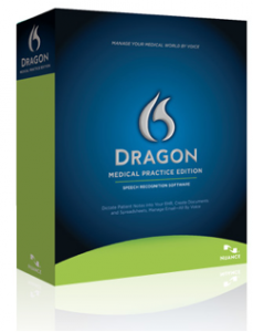 Dragon medical license box shot