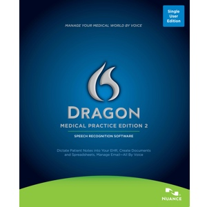 Dragon Medical Practice Edition 2 Front Box Shot