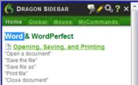 The Dragon Sidebar